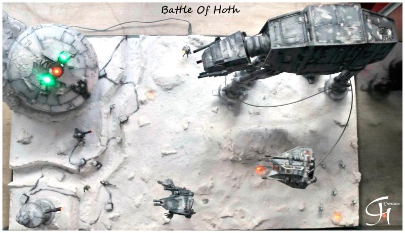 """Diorama """"Battle of Hoth"""" Dioram13"""