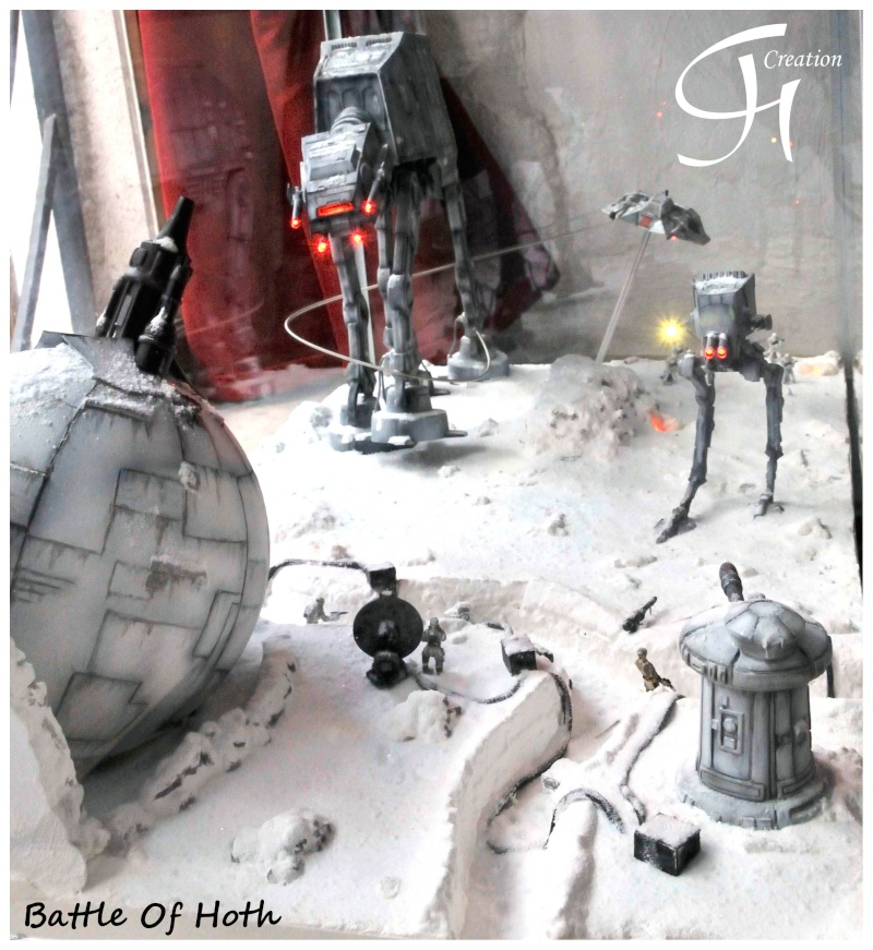 """Diorama """"Battle of Hoth"""" Dioram14"""