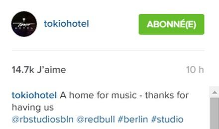 [Instagram Officiel] Instagram  Bill,Tom,Gus,Georg et TH - Page 5 Sans_t15