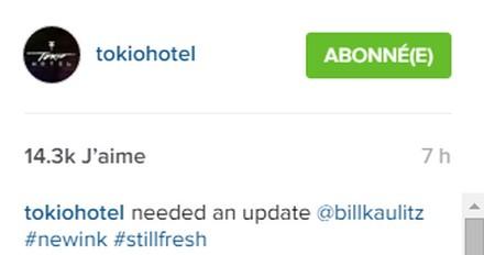 [Instagram Officiel] Instagram  Bill,Tom,Gus,Georg et TH - Page 6 Sans_t52