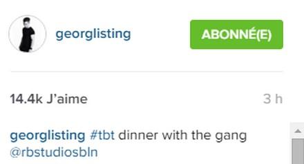 [Instagram Officiel] Instagram  Bill,Tom,Gus,Georg et TH - Page 6 Sans_t67