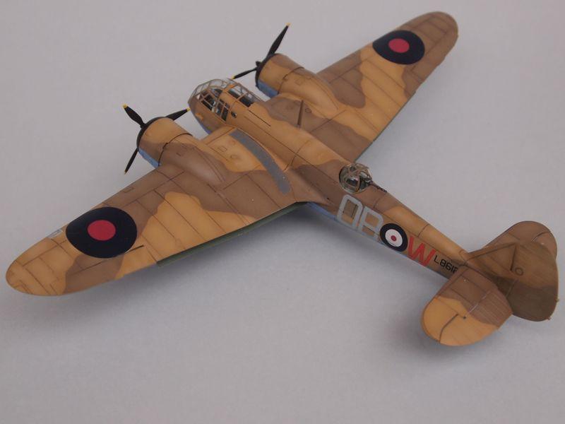 Blenheim Mk I [Airfix 1/72 et décals Print-scale] Mon0110