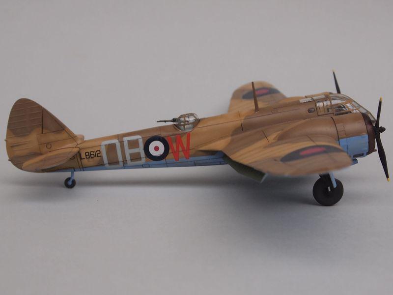 Blenheim Mk I [Airfix 1/72 et décals Print-scale] Mon0310