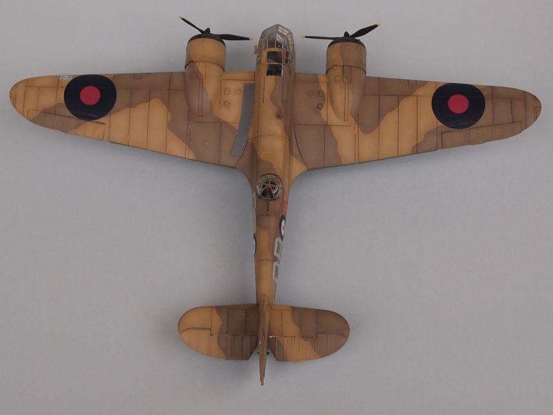 Blenheim Mk I [Airfix 1/72 et décals Print-scale] Mon0410