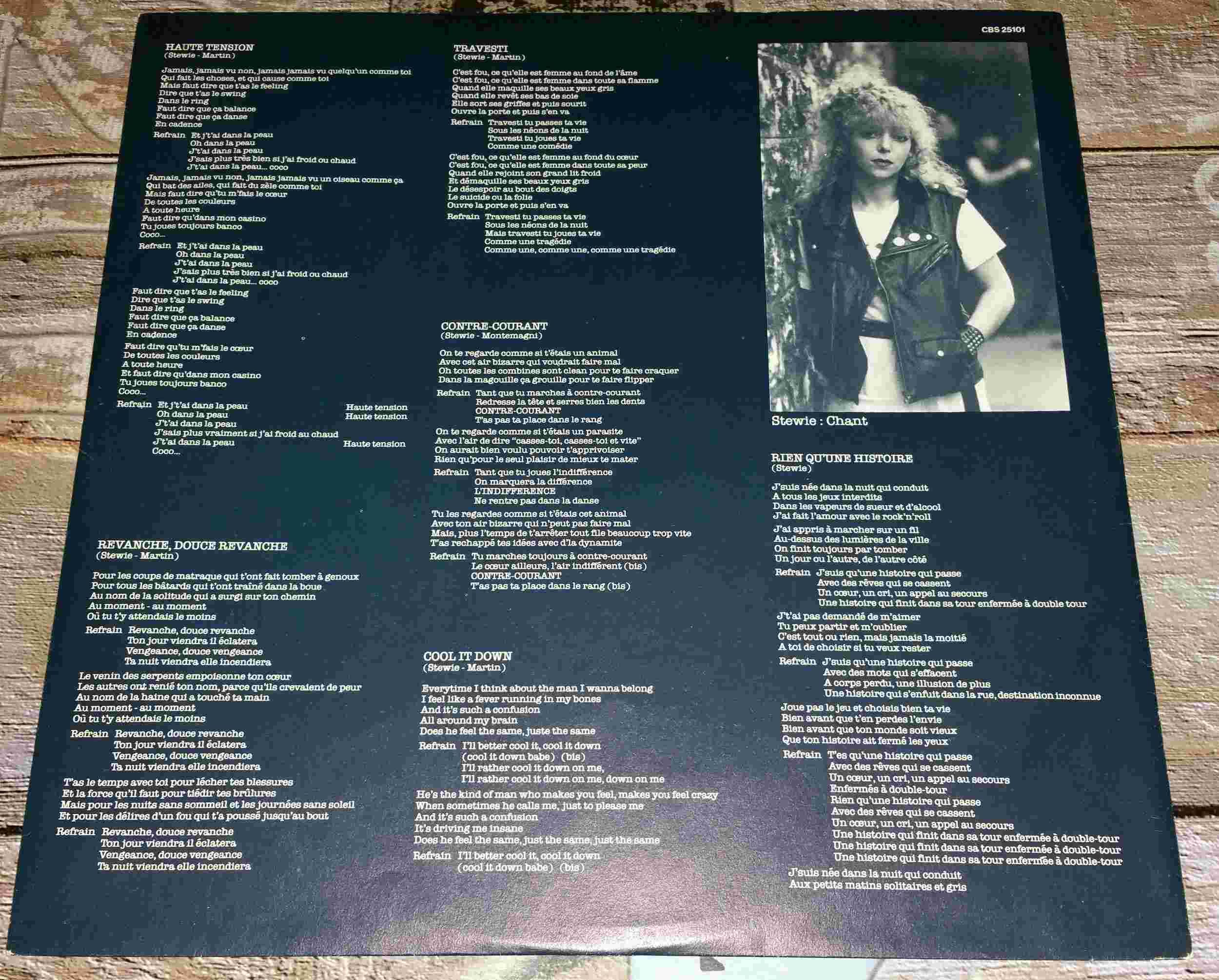 SPEED QUEEN Speed Queen (1982) Toutes les paroles de l'album ... 20160316