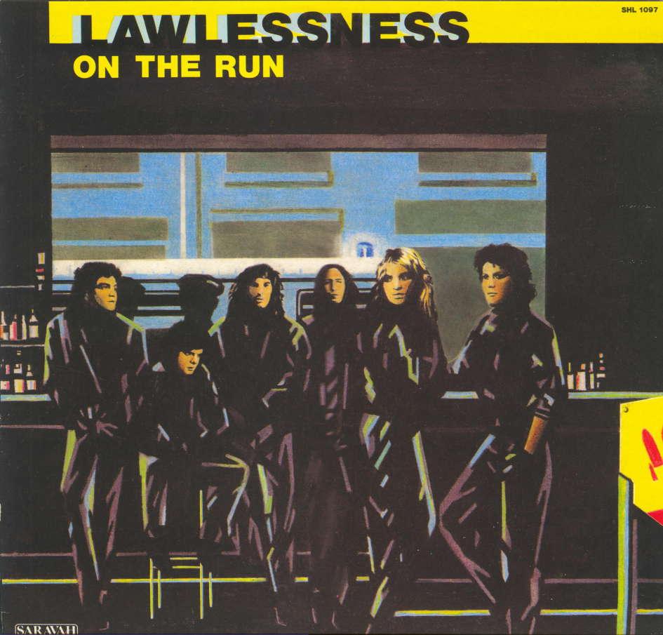 """KLAXON interview dans """"Metal Attack"""" Juillet 1985 Lawles10"""
