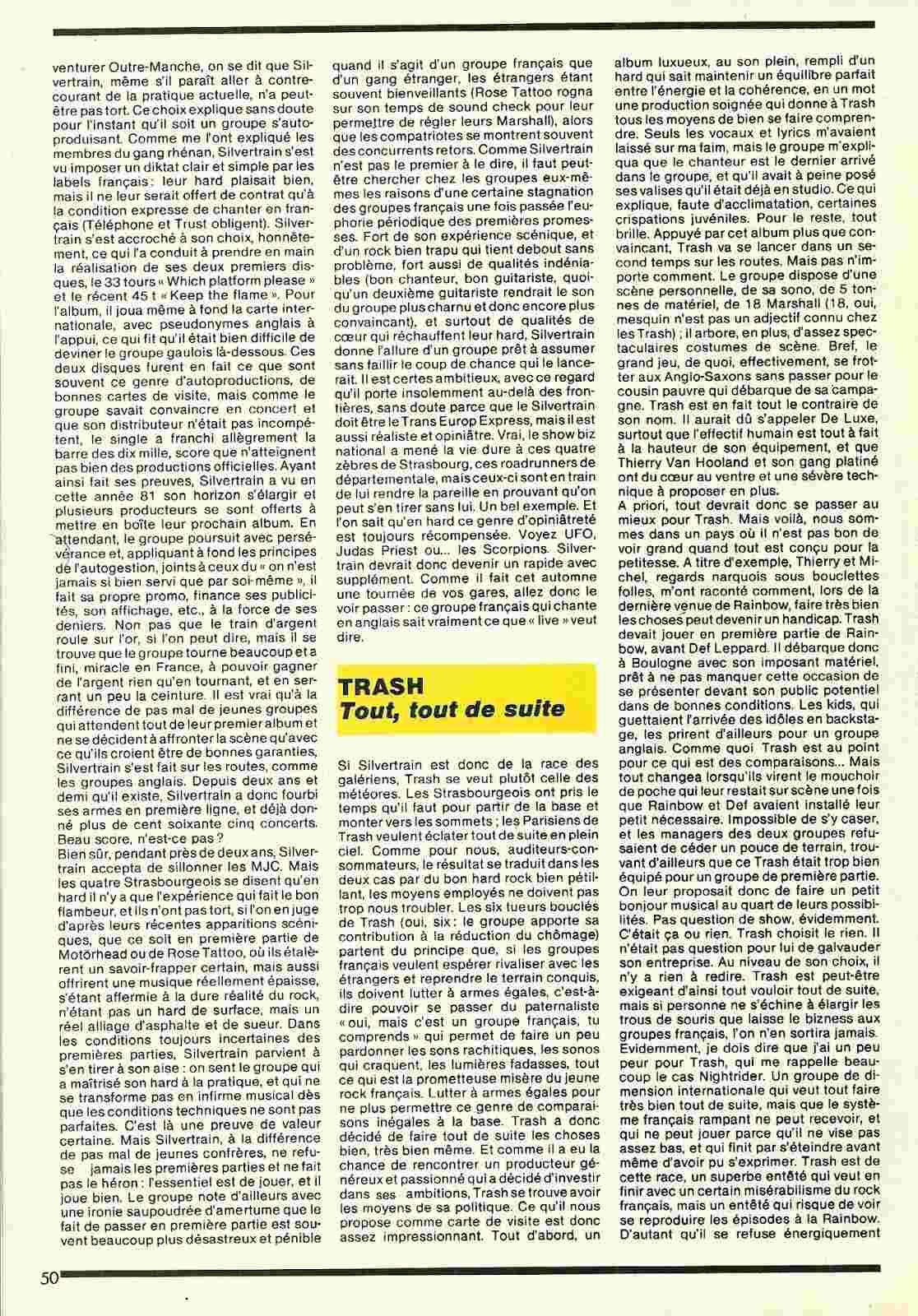 Les petits durs (Article écrit par Hervé Picard) MAG Metal Attack Numyri18