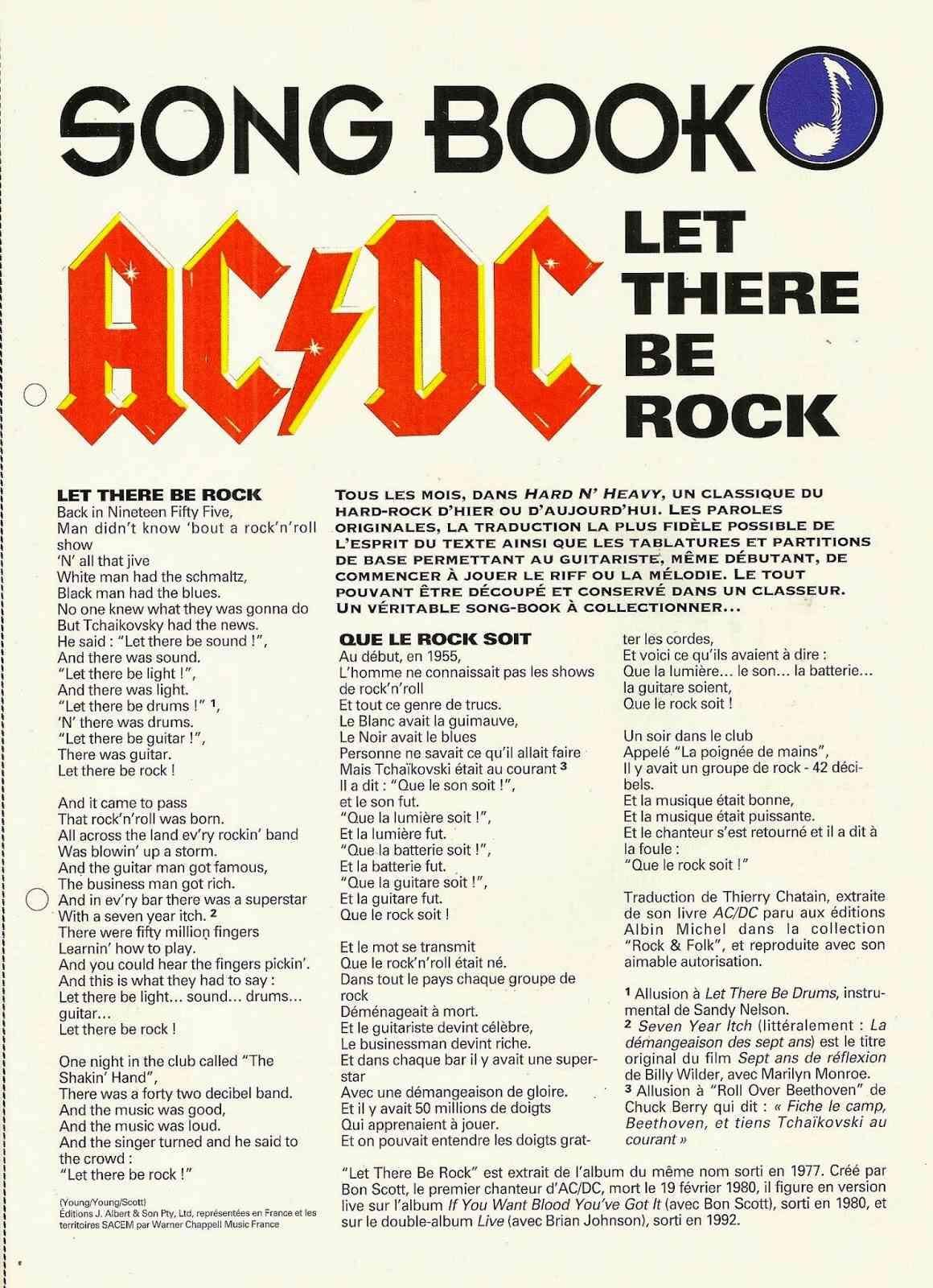 AC/DC Let There Be Rock  Parole10