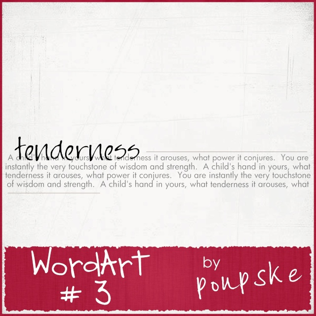 WordArt # 3 by Poupske Wordar12