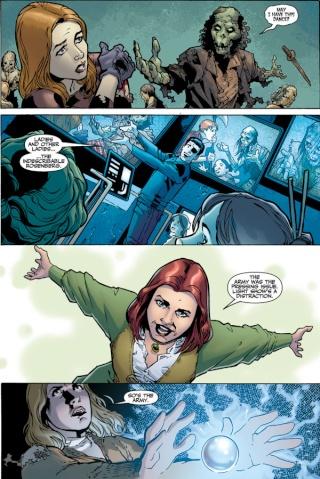Buffy, the vampire Slayer  : le comics Buffy210