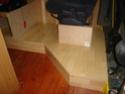 Le coin repas (estrade, table et places assises) Estrad10