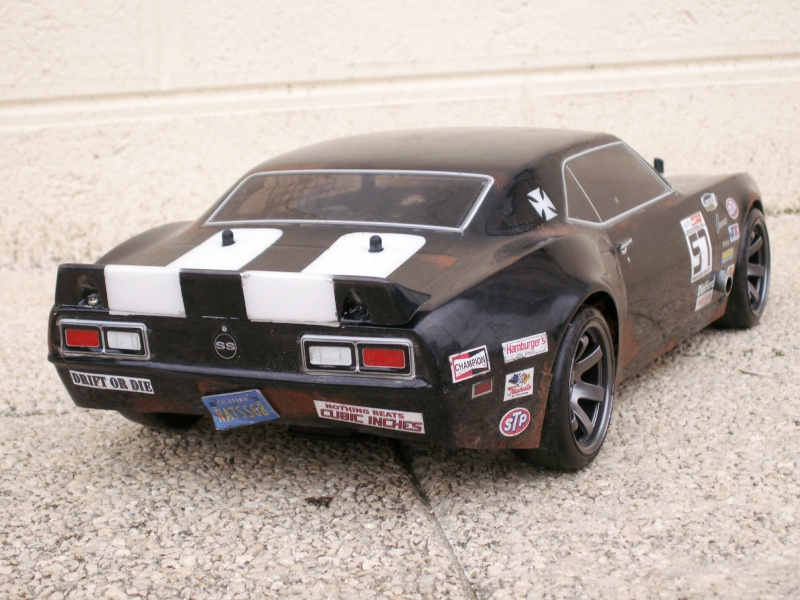 [ HPI e10 / RS4] '68 CHEVY Camaro / NISSAN Cedric H_d_ca13