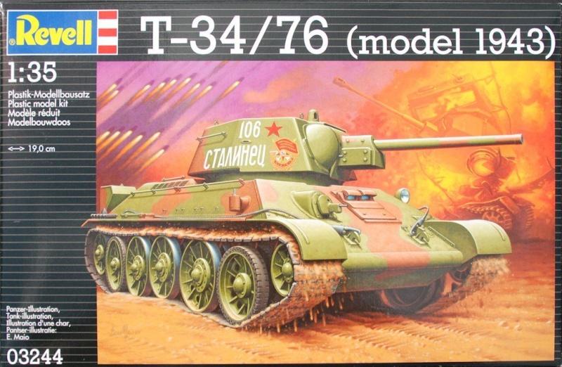 """T- 34/76 MODEL 1943 """"REVELL 61550710"""