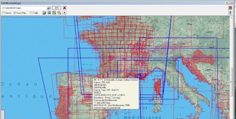 oziexplorer - OziExplorer et ses liaisons cartographiques Captur20