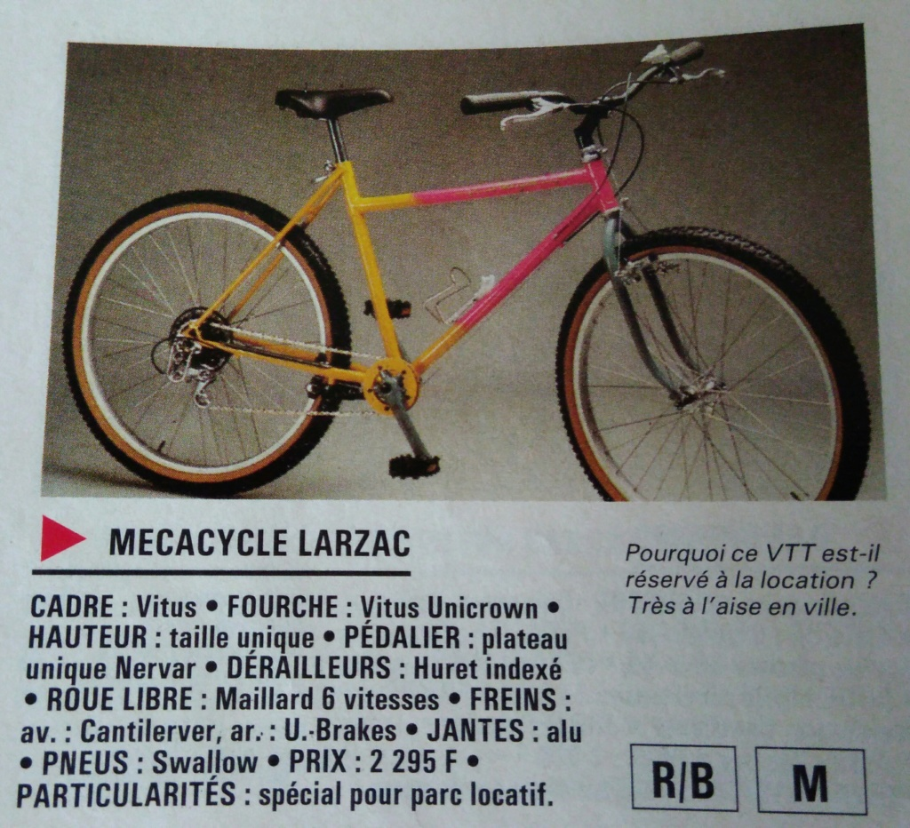 "Mécacycle modèle Larzac, ""Presque un single speed"" P_201815"