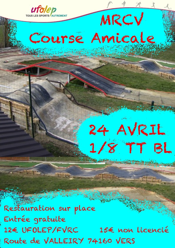 1ere course UFOLEP 24 Avril Affich11