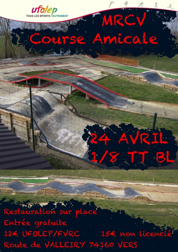 1ere course UFOLEP 24 Avril Affich12