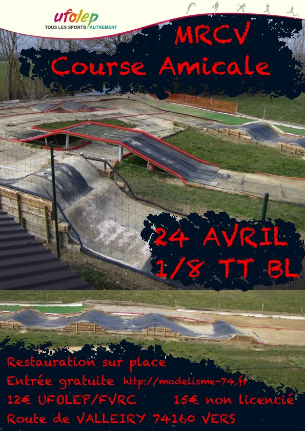 1ere course UFOLEP 24 Avril Affich13