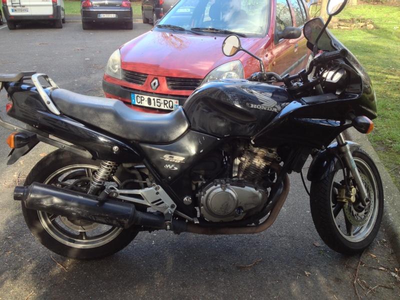 Mon nouveau mulet, Honda, pour aller au boulot  Img_4510