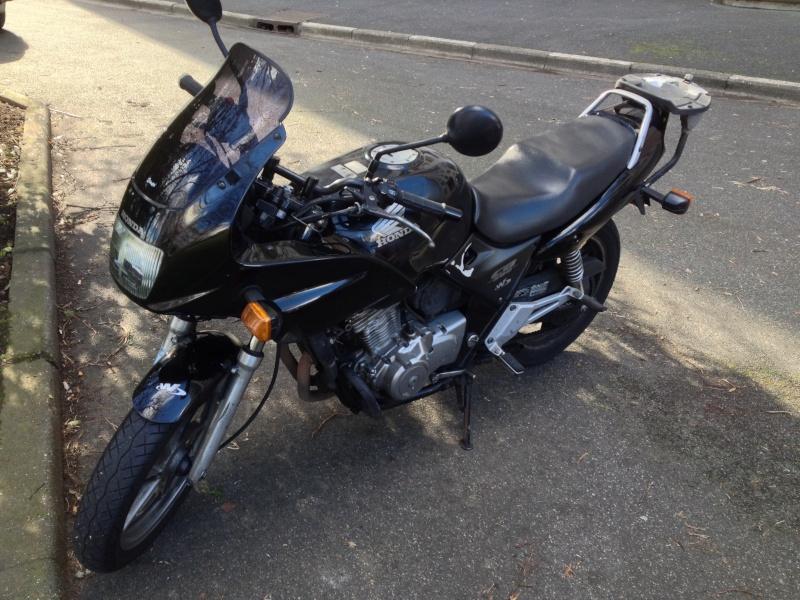 Mon nouveau mulet, Honda, pour aller au boulot  Img_4513