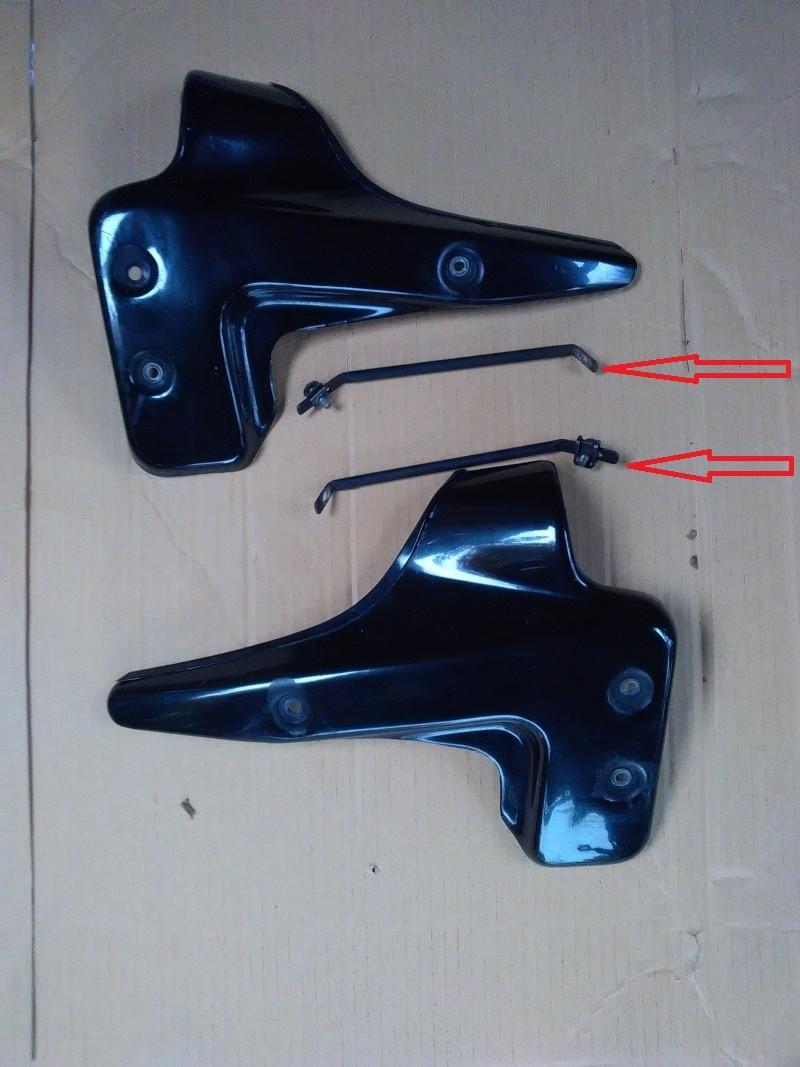 Pattes de fixations écopes de radiateur  Ecopes10