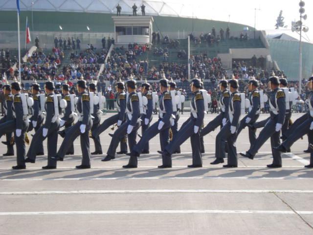 Parada Militar Chile 2009 (Preparatoria) Dsc04414