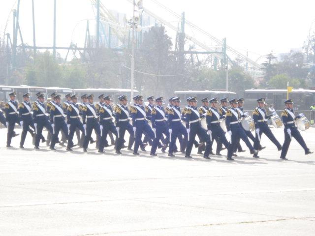 Parada Militar Chile 2009 (Preparatoria) Dsc04428