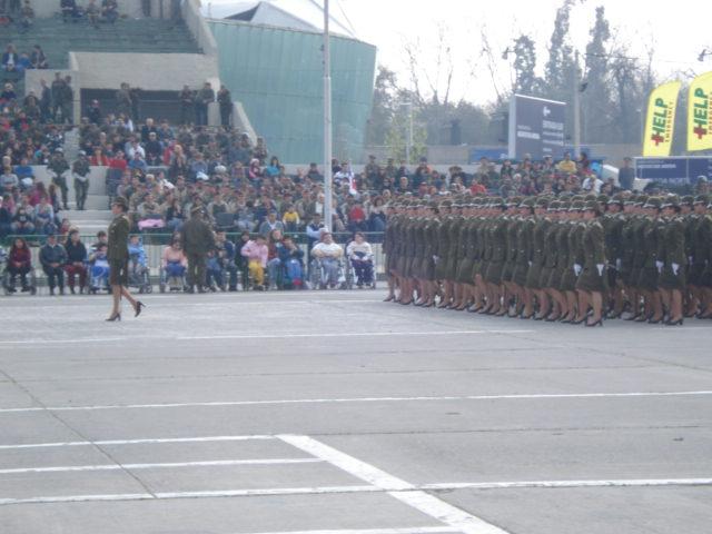 Parada Militar Chile 2009 (Preparatoria) Dsc04448