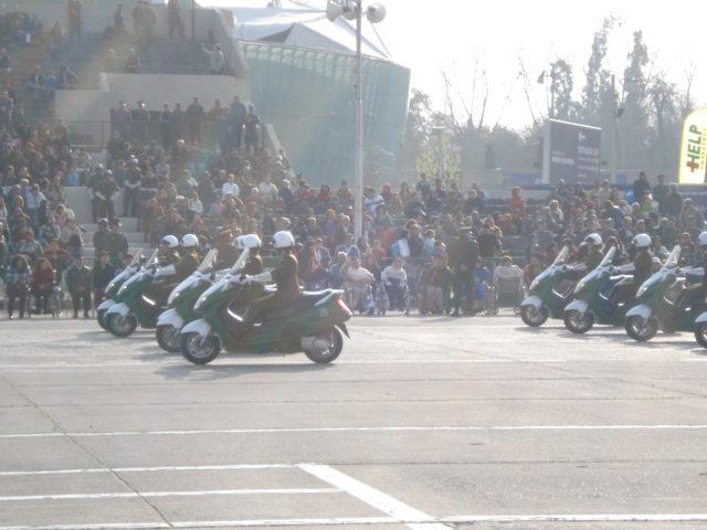 Parada Militar Chile 2009 (Preparatoria) Dsc04556