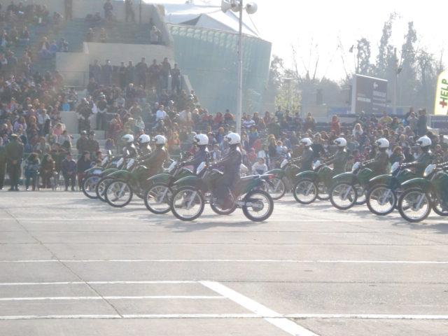 Parada Militar Chile 2009 (Preparatoria) Dsc04558