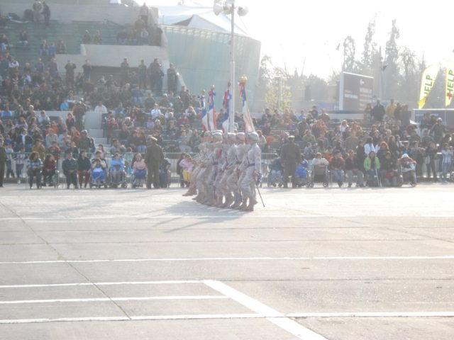 Parada Militar Chile 2009 (Preparatoria) Dsc04627