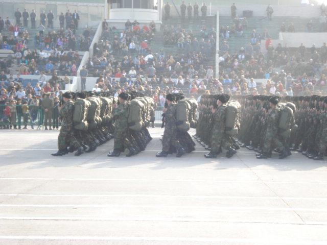 Parada Militar Chile 2009 (Preparatoria) Dsc04637