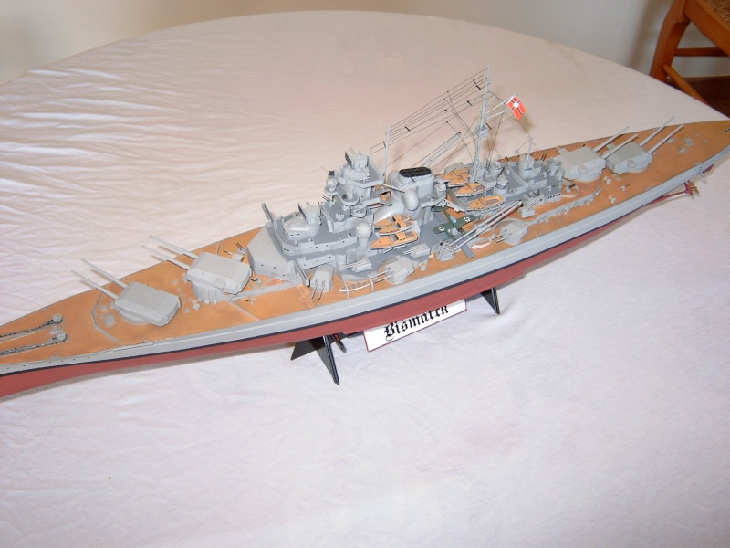 Cuirassé Bismarck 1.350ème - Tamiya 5_bism10