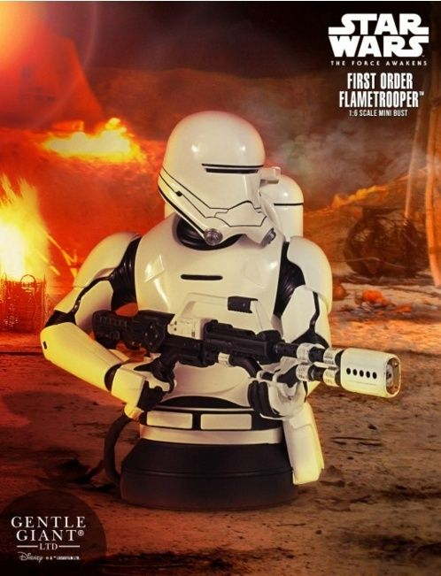 Gentle Giant - First Order Flametrooper Mini Bust TFA Captur21