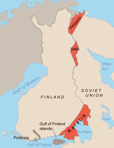 [Finlande] - Näätämö : du soleil de minuit à la nuit polaire 464px-10