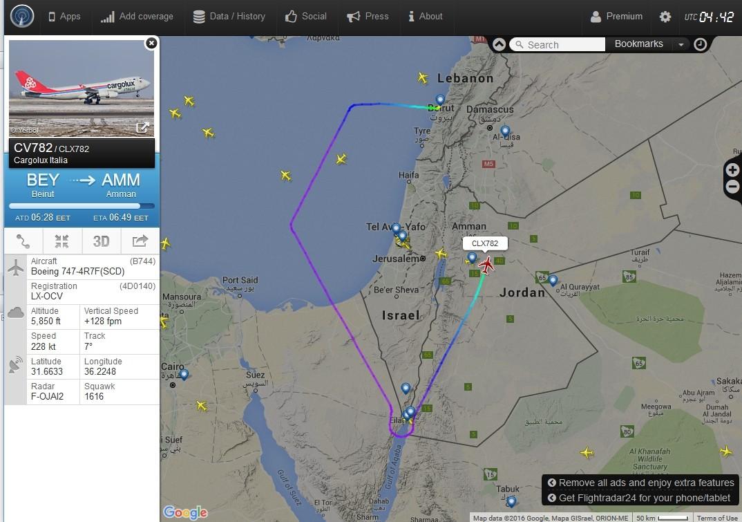 radarvirtuel.com/Flightradar24.com : tous les avions en vol en direct sur une carte - Page 2 Beyrou10