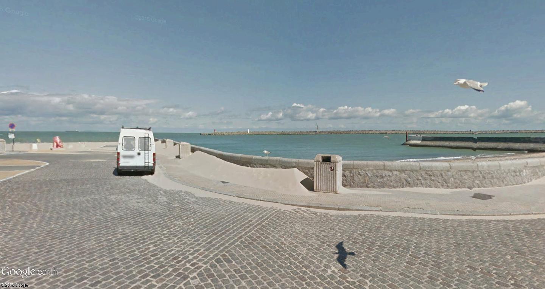 STREET VIEW : 2 sens de circulation = 2 saisons différentes vues de la Google Car ! [A la chasse !] - Page 2 Calais11
