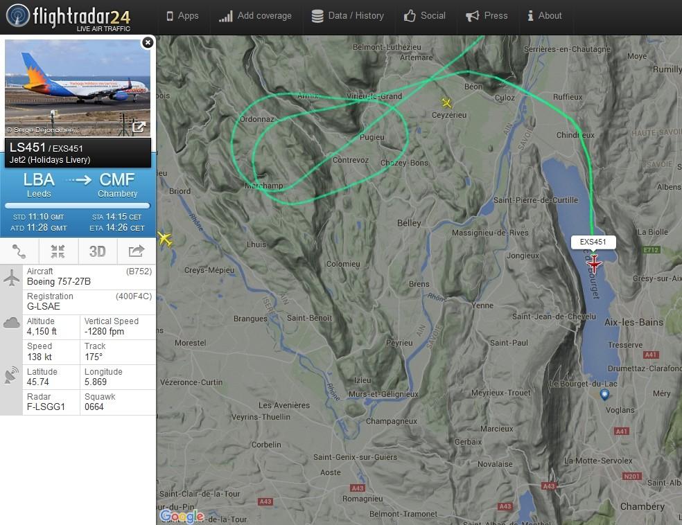 radarvirtuel.com/Flightradar24.com : tous les avions en vol en direct sur une carte - Page 2 Chamby10