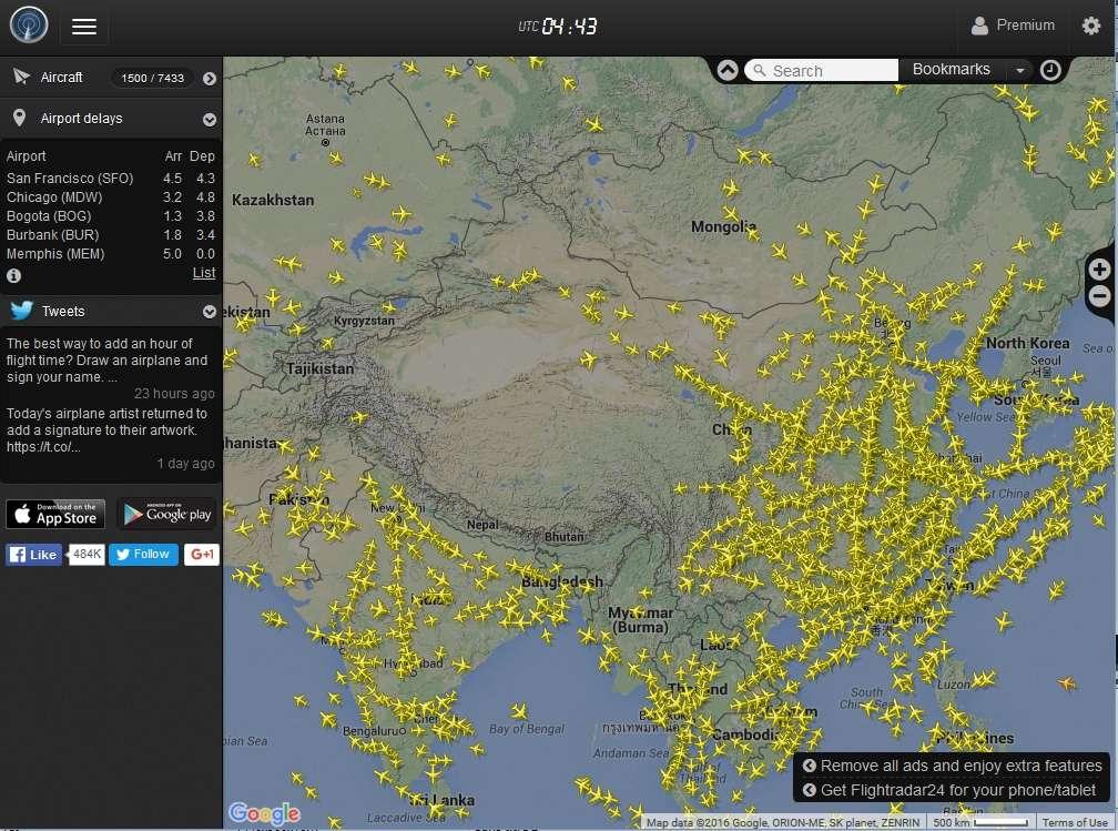 radarvirtuel.com/Flightradar24.com : tous les avions en vol en direct sur une carte - Page 3 Chine_10