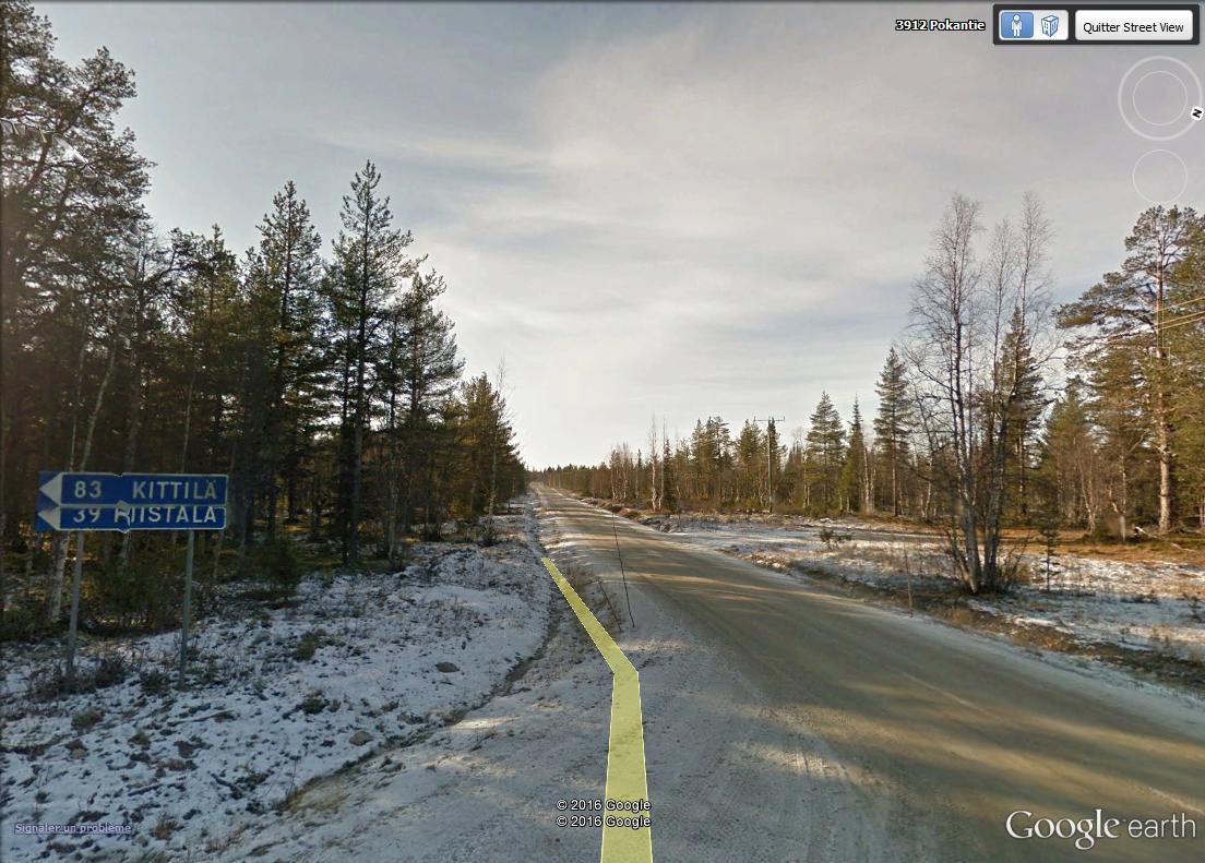 STREET VIEW : 2 sens de circulation = 2 saisons différentes vues de la Google Car ! [A la chasse !] Laponi14