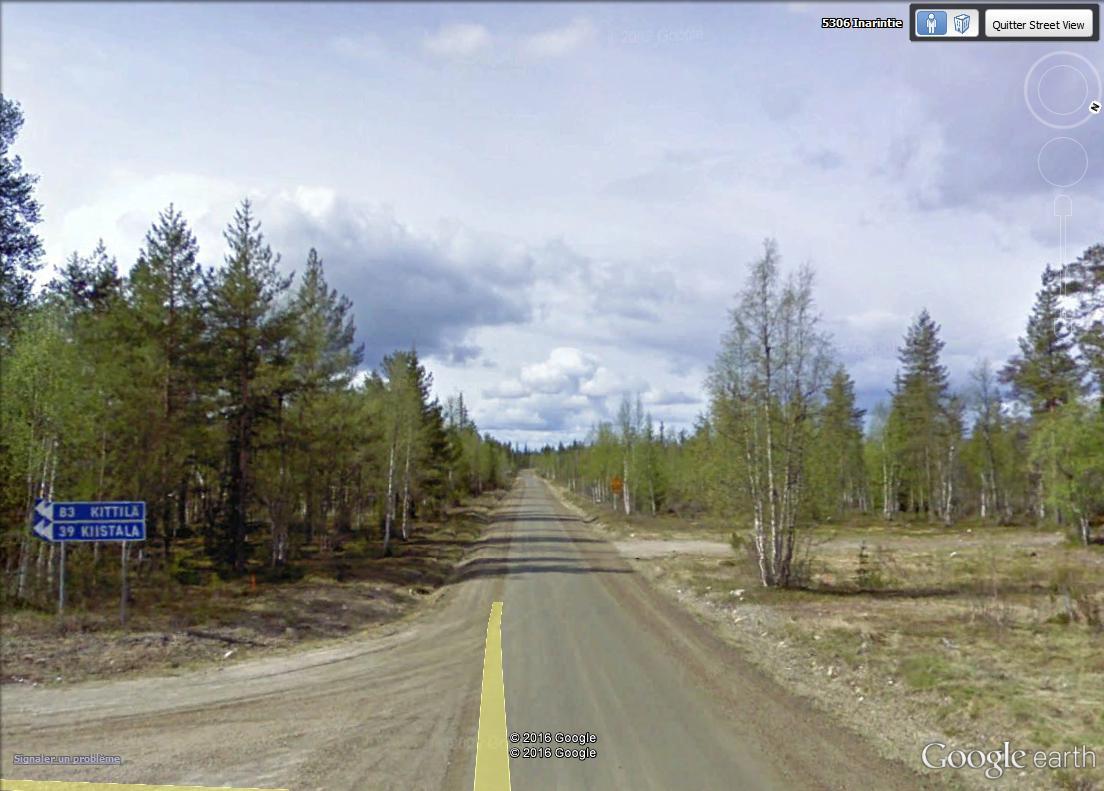 STREET VIEW : 2 sens de circulation = 2 saisons différentes vues de la Google Car ! [A la chasse !] Laponi15