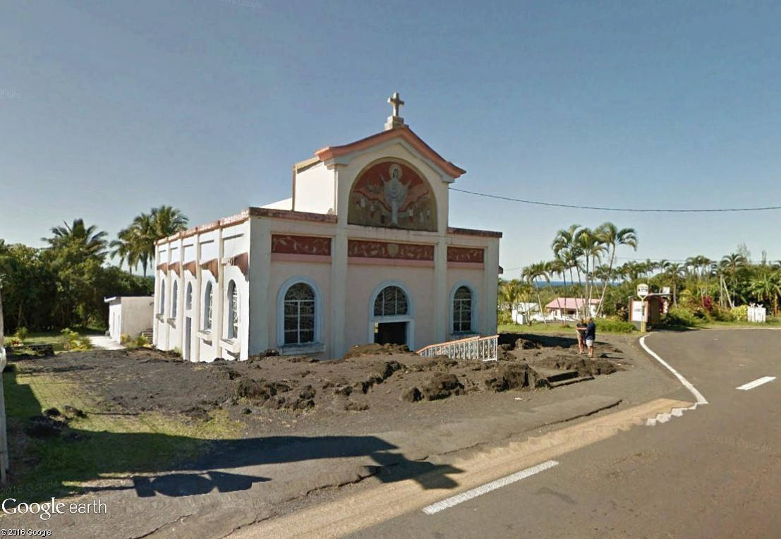Notre-Dame-des-Laves, l'église la plus célèbre de la Réunion Notred12