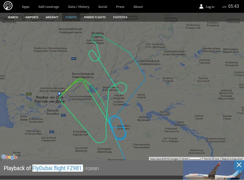 radarvirtuel.com/Flightradar24.com : tous les avions en vol en direct sur une carte - Page 3 Rostov11