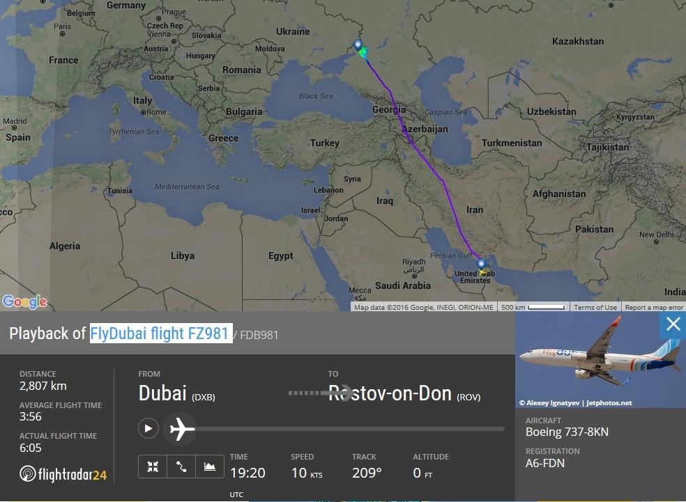 radarvirtuel.com/Flightradar24.com : tous les avions en vol en direct sur une carte - Page 3 Rostov12