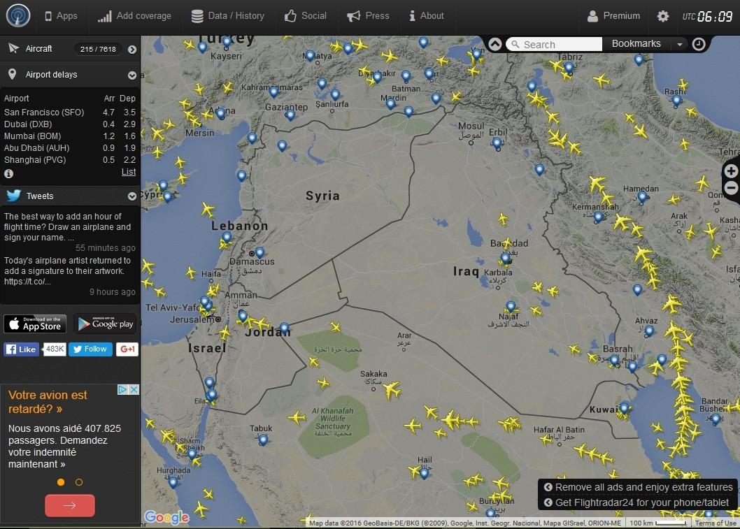 radarvirtuel.com/Flightradar24.com : tous les avions en vol en direct sur une carte - Page 3 Syrie_10