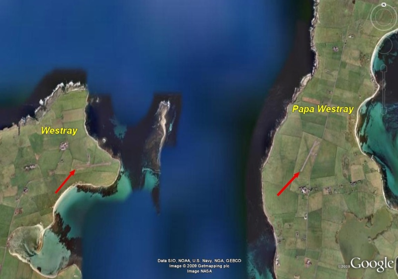 Westray-Papa Westray : plus courte ligne aérienne régulière West310