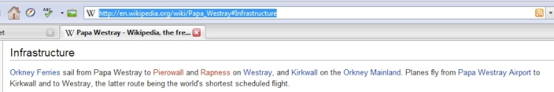 Westray-Papa Westray : plus courte ligne aérienne régulière West410