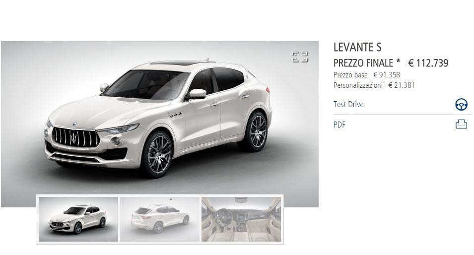 Maserati Levante: il primo SUV della storia del Tridente - Pagina 6 110