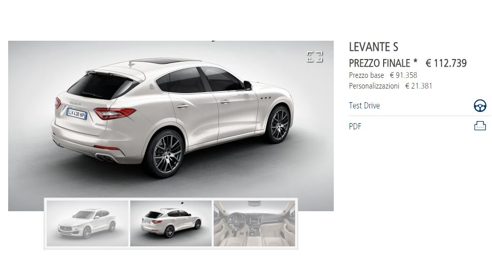 Maserati Levante: il primo SUV della storia del Tridente - Pagina 6 210