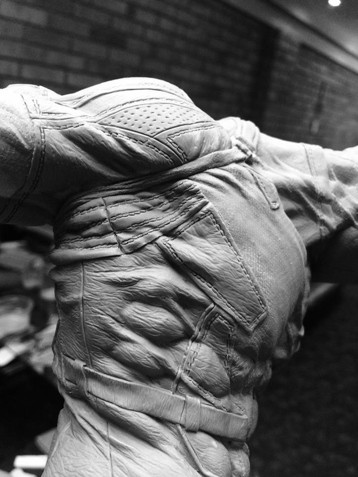 DEADPOOL  Art factory 1/4 scale statue Deadpo11